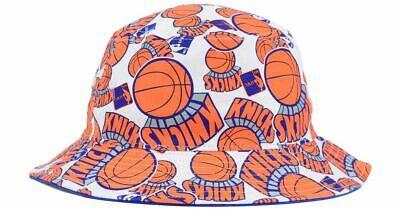 NEW YORK KNICKS 47 BRAVADO Bucket Hat NBA L XL NWT
