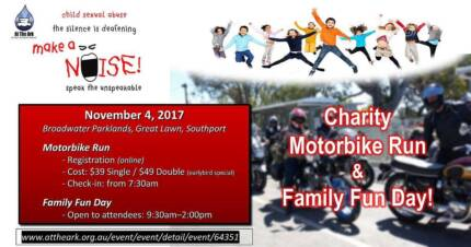 Wanted: Make a Noise Day Chatity Motorbike Run and Family Day