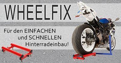 Wheelfix... Die dritte Hand für den Hinterradeinbau Suzuki GSX 1300 R