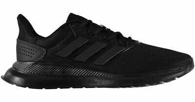 Adidas Men Running Shoes Runfalcon Training Workout White Gym BLACK