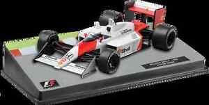 AYRTON SENNA MP4/4 Honda Mclaren F1 Racing Car - Collectable Model - 1:43 Scale