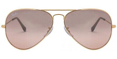 Ray-Ban Sunglasses Aviator RB3025 001/3E Gold Frame W/ Arista Gold Mirror (Ray Ban Arista Aviator)
