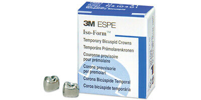 Iso-form Temporary Dental Crowns - All Sizes - 5box By 3m Espe