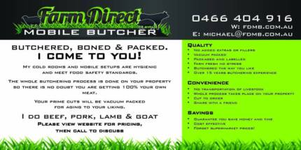 Farm Direct Mobile Butcher