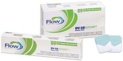 Flow Dental Dv-58 Vinyl Pack Periapical 600 Single X-ray Film Size 2 Econo Pack