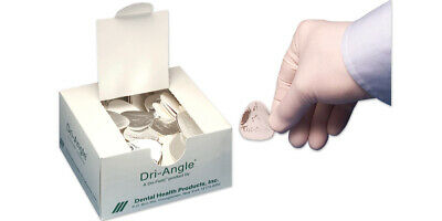 Dental Health 32-lag Dri-angle Silver Backing Cotton Roll Substitute Large 320bx