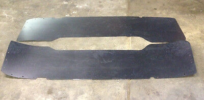 Used, DUALLY DRW LEFT RIGHT REAR BED INNER FENDER LINER SET FITS 99-10 FORD F350 F450 for sale  Athens