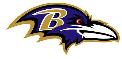 Baltimore Ravens Decal Indoor - Outdoor - Car-  Truck - Window 7.0