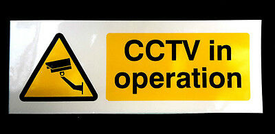 CCTVself adhesive sticker