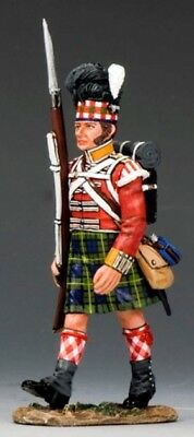 KING & COUNTRY THE AGE OF NAPOLEON NA241 GORDON HIGHLANDERS MARCHING RIFLE MB