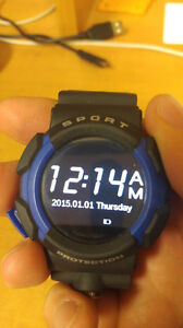 NO.1 A10 Rugged Outdoor Smartwatch (IP68- Dirt/water/shockproof)