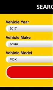 Winter package for 2017 Acura MDX. Available to buy online.  Peterborough Peterborough Area image 2
