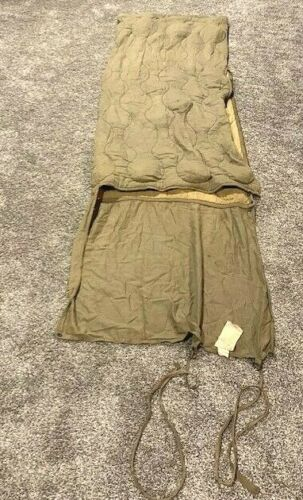 WW2 Era Wool/Cotton Sleeping Bag