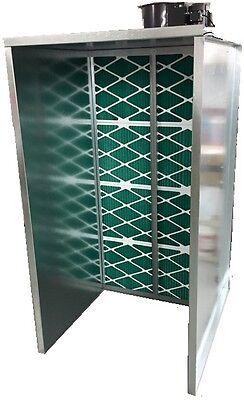 4ft Industrial Grade Open Face Spray Booth