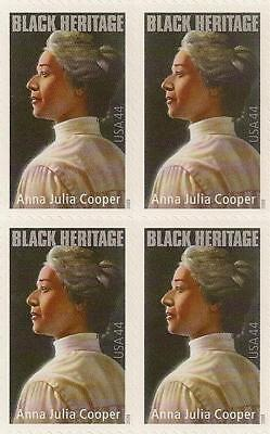 US 4408 Black Heritage Anna Julia Cooper 44c block (4 stamps) MNH 2009 for sale  Shipping to India