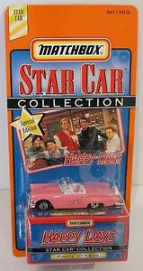 HAPPY-DAYS-PINKYS-57-T-BIRD-CONVERTIBLE-1998-Matchbox-Star-Car-Series