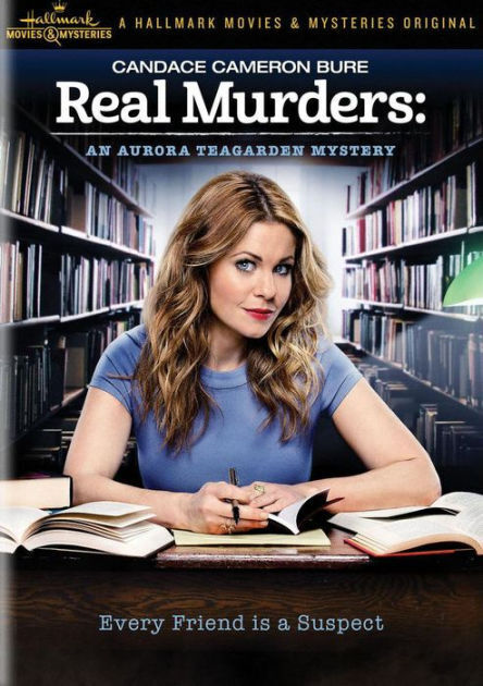 REAL MURDERS: AN AURORA TEAGARDEN MYSTERY - DVD - Region 1 - Sealed
