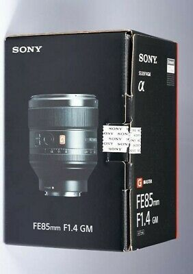 NEW Sony FE 85mm f1.4 GM Lens SEL85F14GM