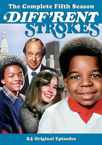 DIFF'RENT STROKES: THE COMPLETE FIFTH SEASON 5 - DVD - Region 1