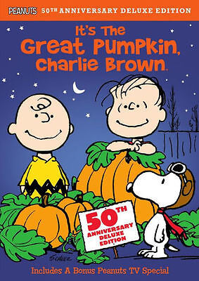 IT'S THE GREAT PUMPKIN CHARLIE BROWN - deluxe remastered - DVD - Region 1
