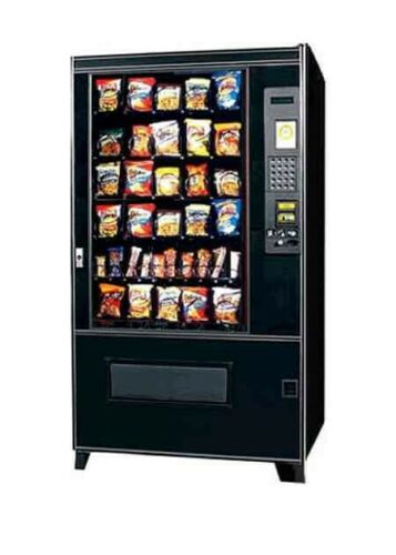 AMS 39-640 Snack Vending Machine Sensit 1 FREE SHIPPING