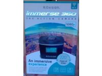 Brand New in Box, Kitvision Immerse 360 Degree HD camera and action film