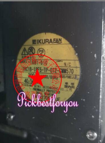 1PC IKURA THC1B-18F5-TP-0T2-CMM570 200V40/50W Fan #M292D QL