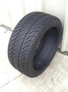 295/25R22Kumho Ecsta ASX All Season 2 used tires 75% tread left