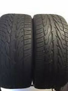 285/45R22 Set of 2 Toyo Used Free Inst.&Bal.75%Tread Left