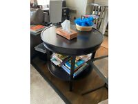 Oak/ Teak Wooden Side Table/ Coffee Table
