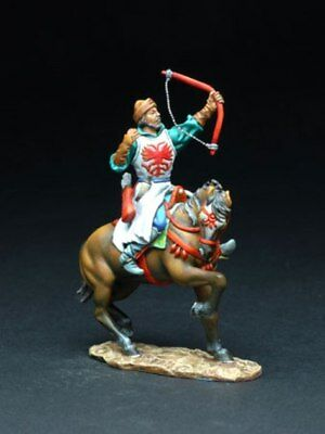 FIGARTI THE WU COLLECTION W4804 RUSSIAN MOUNTED BOWMAN OF IVAN THE TERRIBLE MIB