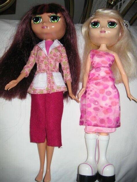 """Mattel 2001 Diva Starz 12"""" Talking Dolls Miranda & Nikki"""