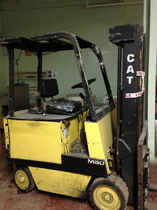 Electric Cat Forklift M50 with chargers