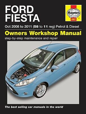 Ford Fiesta Petrol & Diesel 2008 - 2011 Haynes Manual 4907 NEW