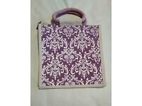 Brand new printed jute bag