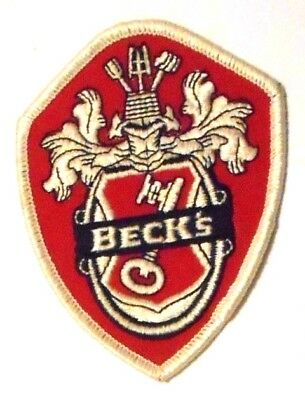 "Becks Beer Patch Embroidered Ale 3"" inch Coat of Arms"