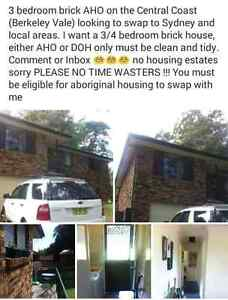 3bedroom AHO swap for 3/4 bedroom Greystanes Parramatta Area Preview