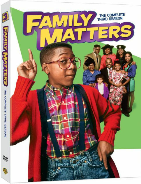 FAMILY MATTERS: THE COMPLETE THIRD SEASON (3PC) - DVD - Region 1