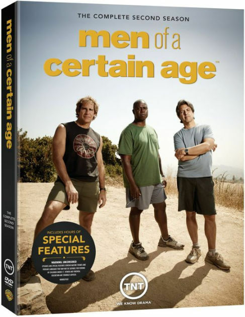 MEN OF A CERTAIN AGE: THE COMPLETE SECOND SEASON - DVD - Region 1