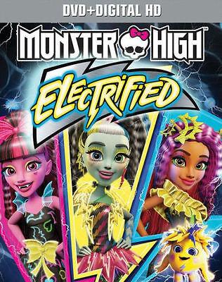 PRE ORDER: MONSTER HIGH: ELECTRIFIED - DVD - Region 1 - - Monster High Movie Order