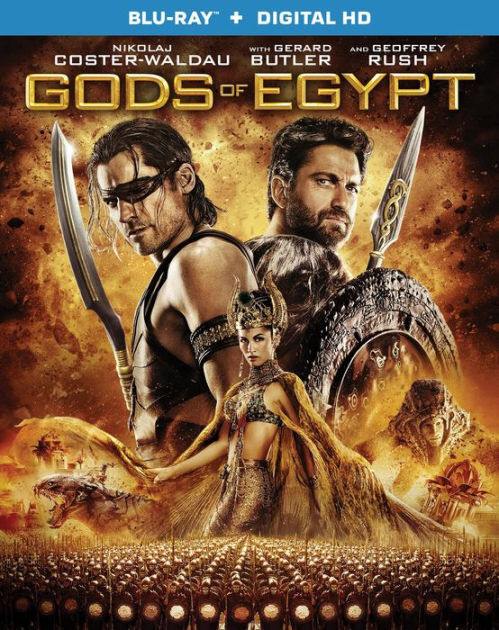 GODS OF EGYPT (Gerard Butler) - BLU RAY - Region A - Sealed