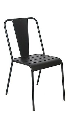 Lot Of 10 Restaurant Outdoor Patio In Black Iron Outdoor Chairs