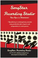 Recording studio in Woodstock accepting new clients!