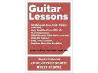 J Powell Guitar/Bass Tuition Pontypridd