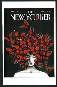 Ana Juan - Copertina per The New Yorker del 2010 - cartolina moderna - Albuzzano, Italia - L'oggetto può essere restituito - Albuzzano, Italia