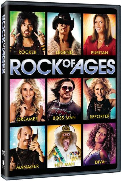 ROCK OF AGES / (UVDC ECOA) - DVD - Region 1