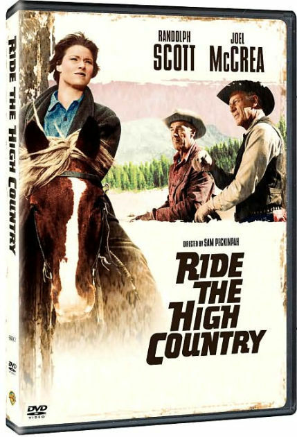 RIDE THE HIGH COUNTRY / (AMAR WS) - DVD - Region 1