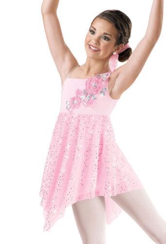 "NEW Weissman ""Ordinary Miracle"" Dance Costume Skate Dress 6470 Adult"
