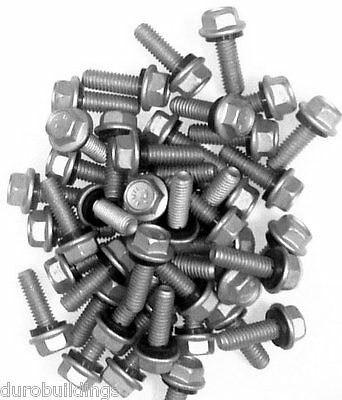 Duro Steel 1000 Count 516 X 1 Arch Building Grain Bin Boltsnuts Washers
