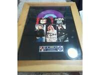 ABBA autographed record.